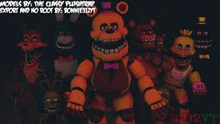 All Unnightmare Animatronics Sing The FNAF Song