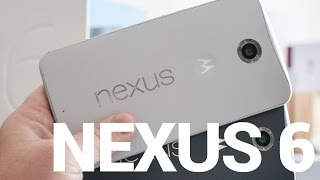 The Nexus 6 video walkthrough