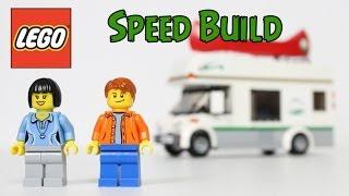 LEGO City Camper Van 60057 Speed Build