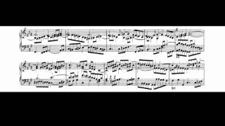 Bach - Well-Tempered Clavier, Book 1: Fugue No. 14 in F-sharp minor (Gould)