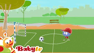 Playing Football - Stick with Mick | BabyTV