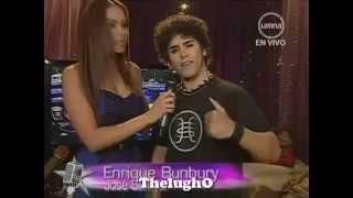 """Yo Soy ENRIQUE BUNBURY [30/10/12] """"Entre Dos Tierras"""" - Yo Soy Cuarta Temporada"""