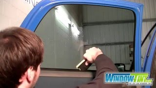 Conquerer window tinting squeegee tutorial