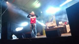 "Paluch ""Dym"" (Złota Owca) Extremalia Hip-Hop Festiwal Ślesin Plaża 22.07.2017r."
