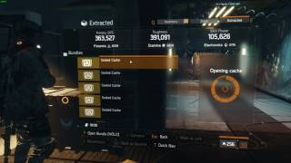 The Division - เปิดกล่อง DZ Sealed Caches 1.6