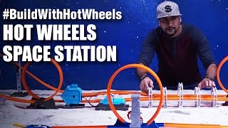#BuildWithHotWheels - Space Station | Hot Wheels | Mad Stuff With Rob