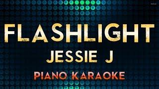 Jessie J - Flashlight | Piano Karaoke Instrumental Lyrics Cover Sing Along