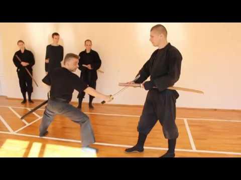 Togakure ryu Ninja Biken. Seminar Momot Valerii 28-30.09.2012. Brest, Belarus'