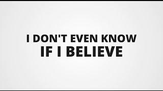 Mumford & Sons Believe Lyric Video