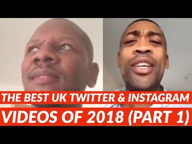 Meilleures vidéos britanniques sur Twitter et Instagram pour 2018 (partie 1)