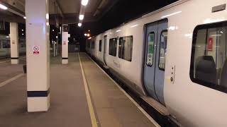 Thameslink Class 700117 Departure Gatwick Airport for Cambridge