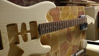 Costruzione chitarra elettrica   Costruire una chitarra elettrica   Video Liuteria