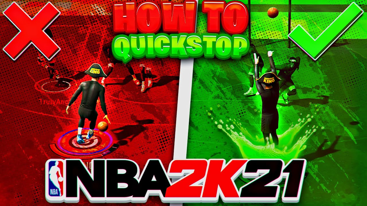 Y0UNGDIRK - QUICK STOP TUTORIAL on NEXT GEN NBA 2K21! *FASTEST* WAY TO SET YOUR FEET!