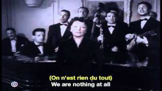 Edith Piaf La Goualante du Pauvre Jean French & English Subtitles