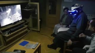 Casi mato de un infarto a mi padre con las PlayStation VR