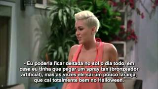 Nova prévia do episódio de  Miley Cyrus no 'Two and a Half Men' - Legendada
