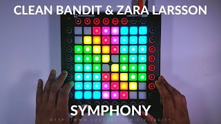 Clean Bandit - Symphony ft. Zara Larsson// Launchpad Cover/Remix