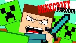 Minecraft parodia ita-Rientro a casa-