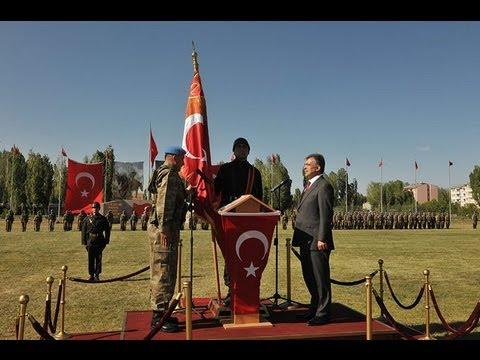 Cumhurbaşkanı Gül, Patnos'ta Sancak Tevdi Törenine Katıldı-07.06.2012