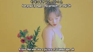 Taeyeon - Love In Color [English subs/Romanization/Hangul]