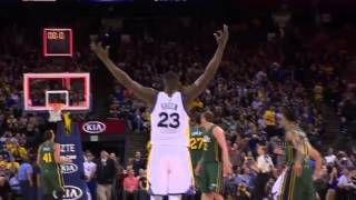 Stephen Curry Half-Court Buzzer Beater vs Utah Jazz (03/09/16)