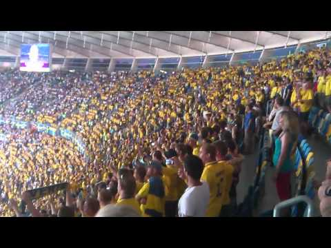 Goal to Euro – The Swedish Fans @ Olympics Stadium – Part 2