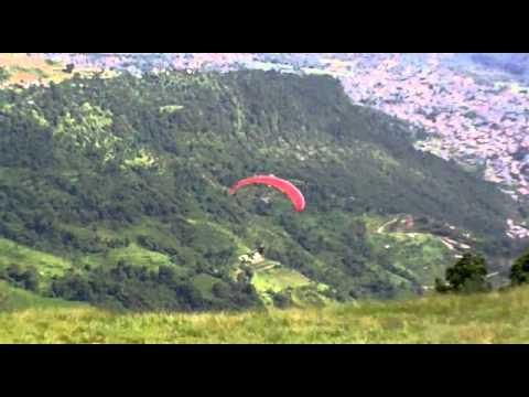 Para Gliding at Pokhara