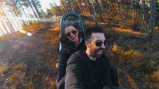 Filmagem fantástica em Pena Aventura feita com GoPro e iPhone