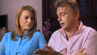 Pat Sajak and Vanna White on the first time they met- EMMYTVLEGENDS.oRG
