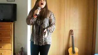 Me singing Cavaleiro Andante by Rui Veloso
