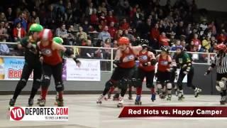Chicago Red Hots siguen invictas en roller derby