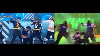 BTS 방탄소년단 & 김성재 - As I Told You 말하자면 comparison