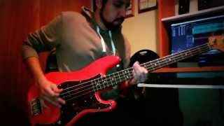 """Kings of Leon """"17"""" Bass Cover"""