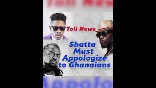 Toli Master Set Rap Battle Between Shatta wale And Samini   Toli Nius