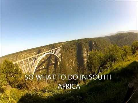 J Bay South Africa, Surfing, Bungee Jumps, Sand Boarding with GO PRO