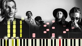 The Neighbourhood- Ferrari [#reggiewatkins synthesia piano tutorial]