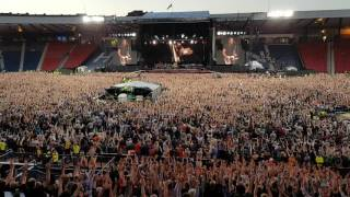 Bruce Springsteen - Shout - Glasgow Hampden Park 01.06.2016