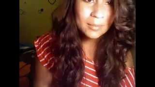 Me singing Que Hiciste by Jennifer Lopez