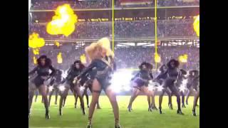 Beyoncé VS Bruno Mars live Super Bowl 2016