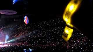 Coldplay Paradise live - Vancouver 2012 tour