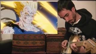 Vegeta's sacrifice song - guitar cover ( Dragon Ball Z)