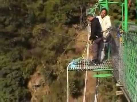 "160 m bungee jumping in Nepal ""The last resort"""