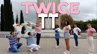 """TT"" - TWICE(트와이스) [Dance Cover by TheBOX feat. B/Yul, Blossom & V.I.D]"