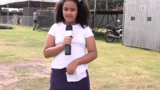 Quadro Repórter Mirim Lívia-Origem do Carnaval Viver Bem Araguaína