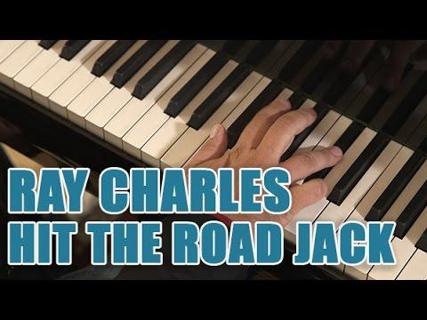 Comment jouer Hit The Road Jack de Ray CHarles au piano