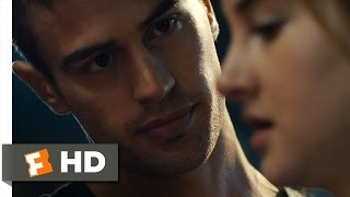Divergent (3/12) Movie CLIP - Four Helps Tris (2014) HD