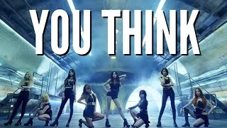 GIRLS' GENERATION YOU THINK LYRICS |NGOUN|