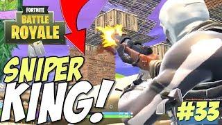 Fortnite Battle Royale - Sniper Kills of the Week #33 (Best Fortnite Kills)