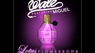 Wale ft miguel lotus flower bomb cover wale ft miguel lotus flower bomb clean mightylinksfo