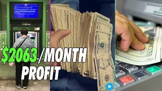 How to start a ATM Business   $3683 Per Month